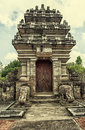 Traditional balinese temple pura beji batuan bali Royalty Free Stock Photography