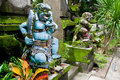 Traditional balinese warrior monster Royalty Free Stock Photos