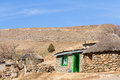 Traditional Basotho Hut With G...