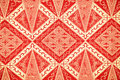 Traditional batik sarong pattern background Royalty Free Stock Photos