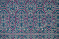 Traditional batik sarong pattern background Stock Photo