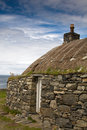 Traditional Blackhouse, Lewis, Hebrides, Scotlan Royalty Free Stock Photos