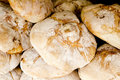 Traditional bread from Mediterranean area Royalty Free Stock Photos