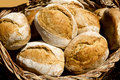 Traditional bread from Mediterranean spain Royalty Free Stock Photo
