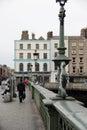 Traditional bridges in Dublin, Ireland Royalty Free Stock Photo