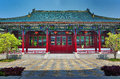Traditional building a chinese style Royalty Free Stock Images