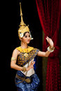 Traditional Cambodian Dance Stock Images