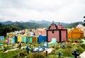 Traditional cemetery in Chichicastenango - Guatemala Royalty Free Stock Photo