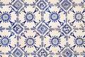 Traditional ceramic tiles Azulejos in Lisbon