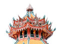 Traditional china style buddhist church temple religion Royalty Free Stock Photo