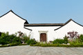 Traditional chinese architecture hangzhou xixi wetland buildings china Royalty Free Stock Photography