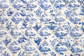 Traditional Chinese ceramic tiles Stock Images