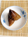 Traditional chinese glutinous rice dumplings Royalty Free Stock Photo