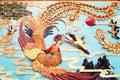 Chinese phoenix art wall China