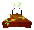 Traditional Chinese Tea Concept