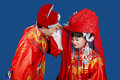 Traditional Chinese Wedding Royalty Free Stock Photography