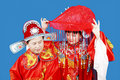 Traditional Chinese Wedding Royalty Free Stock Images