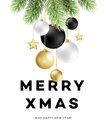 Traditional Christmas decoration elements. Modern card or poster designs. Vector illustration