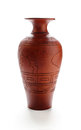 Traditional clay jar Stock Image