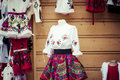 Traditional clothes in zakopane poland Royalty Free Stock Photography