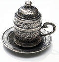 Traditional coffee pot Royalty Free Stock Photo