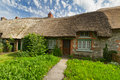 Traditional cottage house Royalty Free Stock Photo