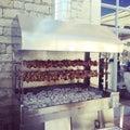Traditional Cyprus kebab, Souvla Royalty Free Stock Photo