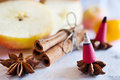 Traditional Czech christmas - smoking incense cones Royalty Free Stock Photo