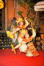 Traditional Dance of Bali Royalty Free Stock Photo