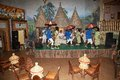 Traditional dance ethiopian at the touristic restaurant in addis abeba ethiopia Stock Images