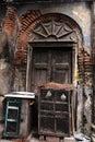 The traditional door of old kolkata Royalty Free Stock Photos