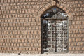 Traditional door, Timbuktu. Royalty Free Stock Photo