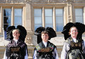 Traditional dresses of Alsace Royalty Free Stock Photo