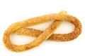 Traditional Dutch cookie called krakeling Stock Photography