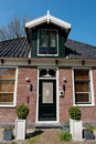 Traditional Dutch house Royalty Free Stock Photography