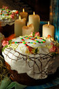 Traditional easter cake Stock Image
