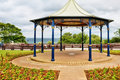 Traditional English bandstand Royalty Free Stock Photos