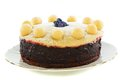 Traditional English Easter cake. Royalty Free Stock Images