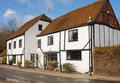 Traditional English Timber Framed House Royalty Free Stock Images