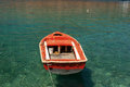 Traditional fishing boat in greece a photo Stock Image