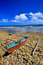 Traditional fishing boat philippines Royalty Free Stock Images