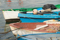 Traditional fishing boats Royalty Free Stock Image