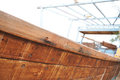 Traditional fishing Dhow Royalty Free Stock Photo