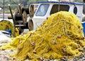 Traditional fishing net Stock Image