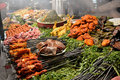 Traditional food stall Royalty Free Stock Photo