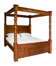 Traditional Four Poster Bed Royalty Free Stock Photo