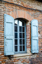 Traditional french window Royalty Free Stock Images
