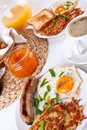 Traditional full breakfast meal Stock Photo