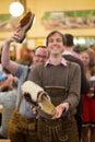 Traditional german clog at oktoberfest Royalty Free Stock Photos