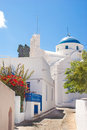 Traditional greek alley on sifnos island greece Stock Photos